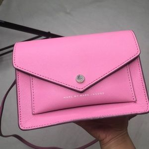 Marc by Marc Jacobs pink crossbody bag